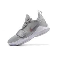 Sepatu Basket Model Nike PG 1 EP Zoom Warna Silver