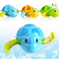 Perempuan 3Pcs Mainan Bak Mandi Bentuk Kura-kura Berenang untuk Anak