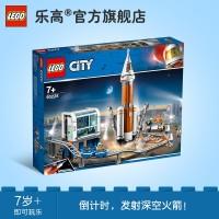 Lego City Set Mainan Balok Susun Roket Luar Angkasa 60228 Dark Air
