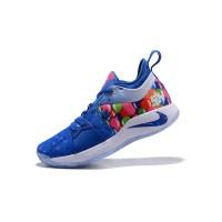 Sepatu Basket Desain Nike PG 2 EP Zoom, Warna Biru