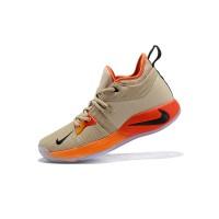 Sepatu Sneakers Basket Model Nike PG 2 EP Khaki Warna Hitam