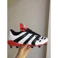 Sepatu Bola Desain Adidas Predator FG FG Warna Putih Ukuran 39-45