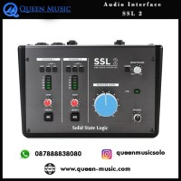 Audio Interface Solid State Logic SSL2 - 2x2 Soundcard Recording