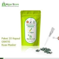 Terlaris Masker Wajah Premium - Spirulina Neoalgae Berkualitas