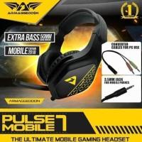 Headset Gaming Armageddon Pulse 7 Mobile Rembulanmalam1010