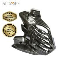 Tutup Radiator Carbon NEMO For Yamaha Aerox New