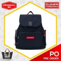 Tommy Hilfiger Varsity Backpack - 901 Blue - Ori & Termurah