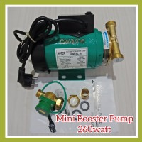 Pompa Mini Booster Pump 260 watt Otomatis Pendorong Air Water Heater