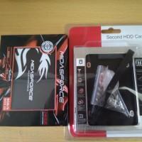 Paket Bundling SSD Midasforce 240GB + HDD Caddy Ukuran 12.7mm / 9.5mm