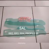 tear off tearoff arai SAL,Rapide sr,profile, rr4 (pembelian minimal 3