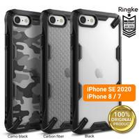 Case iPhone SE 2020 / 8 / 7 RINGKE Fusion X Anti Crack Casing ORIGINAL - Black