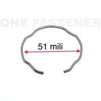 ks0153 KAWAT kancing klip ring seal tabung as shock SOK DEPAN VIXION