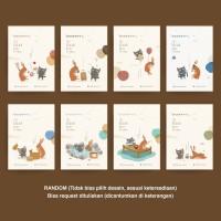 Greeting Card Kartu Ucapan Gift The Brown Hare