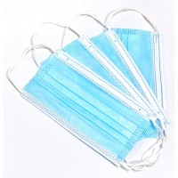 Masker 3Ply Import 3 Lapis Earlopp Disposable Eceran READY STOCK