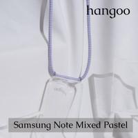 Casing hp Samsung Note tali mixed pastel ungu hangoo - Note 9