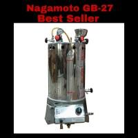 Setrika Uap Gas Boiler Nagamoto kapasitas 25 liter