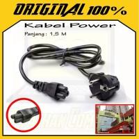 Kabel Power Adaptor Charger Laptop Notebook / jek sambungan lubang 3