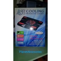 Cooling pad Notebook Ace Samoon Laptop cooler Fan Besar 15 Silent USB