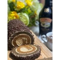 Roll Cake Baileys / Kue Bolu Kopi Baileys