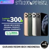 Apple iPhone 11 Pro 512GB 256GB 64GB Garansi RESMI IBOX / TAM - MAX