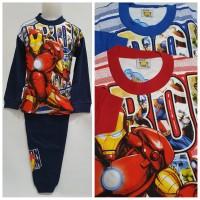 Baju Tidur Anak Iron Man 6-8thn