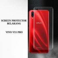 VIVO V11 PRO ANTI GORES BELKANGN SCREEN PROTECTOR ANTISHOCK FULL COVER