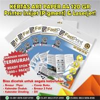 Fast Print Kertas Printer Art Paper Ukuran A4 120 Gram