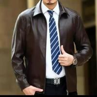 jaket kulit domba asli garut model kantor