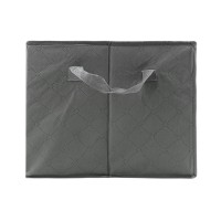 65L Storage Bag Organizer Non-woven Fabric Bamboo Clothing Sorting