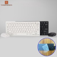 LV Ultra Thin 2.4G Wireless Keyboard Mouse Combo Set With USB