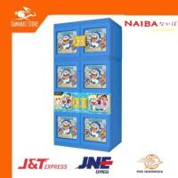 Lemari Gantung Plastik Doraemon, Mickey, Spiderman Arisan PAS