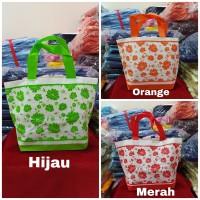 Goodie bag spunbond ultah motif bunga - HSL 211713 Bunga