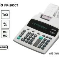 CASIO FR-2650T-WE - KALKULATOR PRINT # PRINTING CALCULATOR (KODE 008))