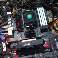 PROMO MSI 970 GAMING MOTHERBOARD SOKET AM3 PLUS SUPPORT FX 8370 8350
