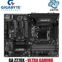 Motherboard Intel LGA 1151 Gigabyte GA Z270X - Ultra Gaming