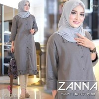 Zanna Tunik / Tunik Wanita Muslimah / Atasa Wanita / Blouse Wanita
