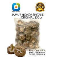 JAMUR HIOKO SHITAKE KERING ORIGINAL / MUSHROOM SHITAKE KERING ORIGINAL