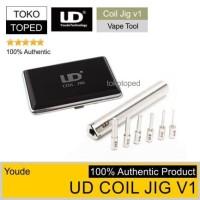 Authentic UD COIL JIG v1   coil builder alat lilit gulung kawat kuro
