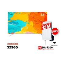 COOCAA LED TV 32 inch 32S6G SMART ANDROID FREE ANTENA PX DA-5200