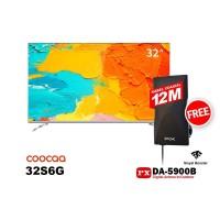 COOCAA LED TV 32 inch 32S6G SMART ANDROID FREE ANTENA PX DA-5900B