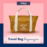 Tote Bag Kanvas / Tas Tenteng Wanita 2 in 1 Wind Blow Korean Tote Bag