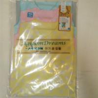 set baju bayi Newborn ( isi 3 pasang ) merk AGIGOM size 0-4 bln