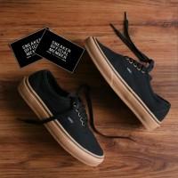 Sepatu Vans Authentic Classic Black Gum BNIB Original Premium