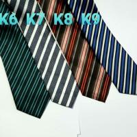 Dasi Panjang Pria Motif Salur - Lebar 3 inch