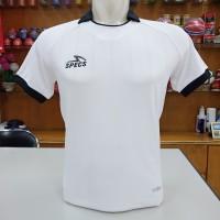 jersey baju kaos olahraga sport futsal specs spec spek maestro putih