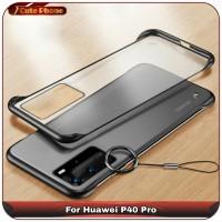 Casing Hard Case Huawei P40 Pro Matte Clear Frameless Slim Fit