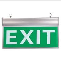 Lampu exit led arcylic / lampu darurat / exit sign / emergency led