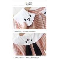 Midi Dress Import bayi, Dress anak motif Garis design lucu & cantik
