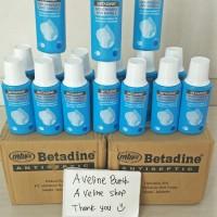 Obat kumur betadine / Betadine Povidone Iodine 190ml