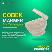 Cobek batu marmer asli Tulungagung